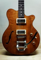 Smitty Model 1 Curly Mahogany 250
